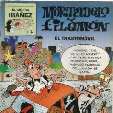 Cómics: EL MEJOR IBAÑEZ Nº 1 - MORTADELO Y FILEMON - EDICIONES B. 1999. Lote 49327971
