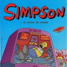 Cómics: CÓMIC SIMPSON ¨EL SHOW DE HOMER¨. Lote 49339561