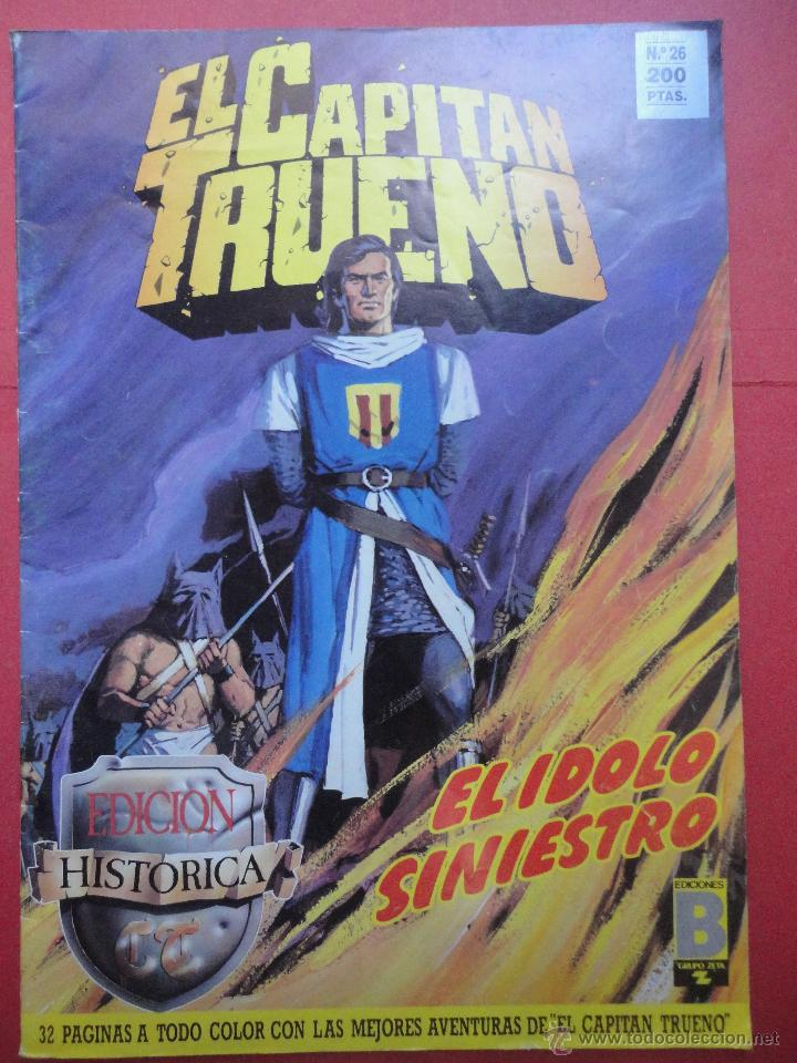 EL CAPITÁN TRUENO. Nº 26 (Tebeos y Comics - Ediciones B - Otros)