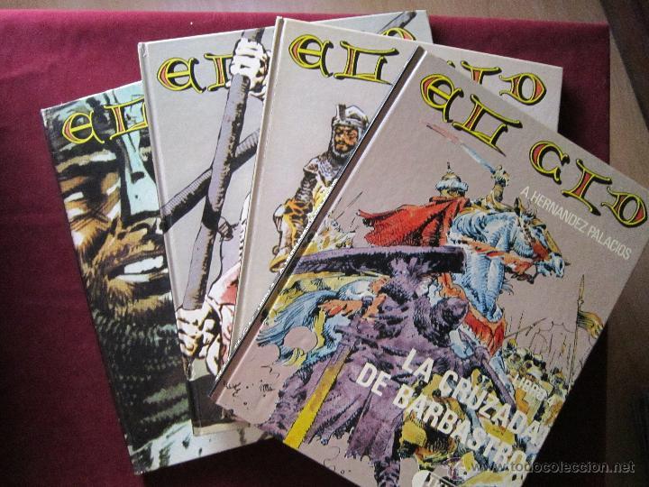 EL CID DE ANTONIO HERNANDEZ PALACIOS COMPLETA 4 TOMOS. IKUSAGER TEBENI MBE (Tebeos y Comics - Ediciones B - Clásicos Españoles)
