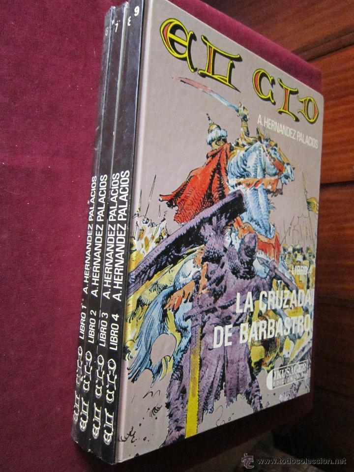 Cómics: El Cid de Antonio Hernandez Palacios Completa 4 tomos. Ikusager tebeni mbe - Foto 2 - 49673209