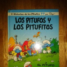 Cómics: 2 HISTORIAS DE LOS PITUFOS. PEYO. EDICIONES B GRUPO ZETA. NUMERO 13. LOS PITUFOS Y LOS PITUFITOS.. Lote 49904616