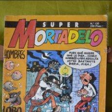 Cómics: SUPER MORTADELO 135 - SUPERMORTADELO - EDICIONES B - 1993 - IBAÑEZ. Lote 49978153