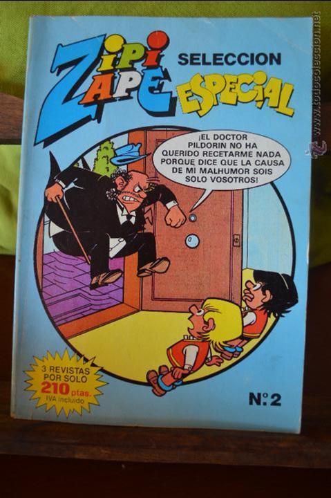 ZIPI Y ZAPE SELECCIÓN ESPECIAL 2 - EDICIONES B - 3 REVISTAS (Tebeos y Comics - Ediciones B - Clásicos Españoles)
