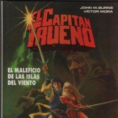 Cómics: EL CAPITAN TRUENO Nº2 - EL MALEFICO DE LAS ISLAS DEL VIENTO - JOHN M.BURNS / VICTOR MORA.. Lote 50216902