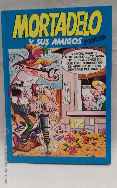 LIBRO COMIC MORTADELO Y SUS AMIGOS - N°7 - EDICIONES B - F. IBAÑEZ - TAPA DURA- AÑO 1987 (Tebeos y Comics - Ediciones B - Humor)
