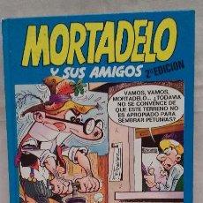 Cómics: LIBRO COMIC MORTADELO Y SUS AMIGOS - N°7 - EDICIONES B - F. IBAÑEZ - TAPA DURA- AÑO 1987. Lote 50379643