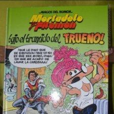 Cómics: MORTADELO Y FILEMÓN - BAJO EL BRAMIDO DEL TRUENO - MAGOS DEL HUMOR 112 - 1 EDICIÓN - 2006 - IBÁÑEZ. Lote 50413069