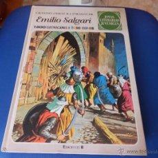 Cómics: GRANDES OBRAS ILUSTRADAS DE EMILIO SALGARI - JOYAS LITERARIAS JUVENILES NUM. 2 - EDICIÓN AÑO 2008. Lote 50516792