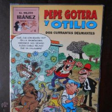Fumetti: EL MEJOR IBAÑEZ Nº 4 - PEPE GOTERA Y OTILIO - DOS CURRANTES DELIRANTES (V1). Lote 50555771