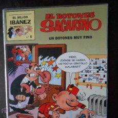 Fumetti: EL MEJOR IBAÑEZ Nº 5 - EL BOTONES SACARINO - UN BOTONES MUY FINO (V1). Lote 50555808