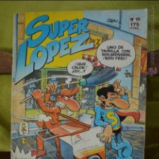 Cómics: REVISTA SUPERLOPEZ 19 - JAN - EDICIONES B - CON BILLETES MORTADELO - SUPER LOPEZ. Lote 127301020
