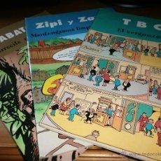 Cómics: LOTE 3 COMICS EDICIONES B - CLÁSICOS ESPAÑOLES - TBO, ZIPI Y ZAPE, JABATO - 2003. Lote 50825078
