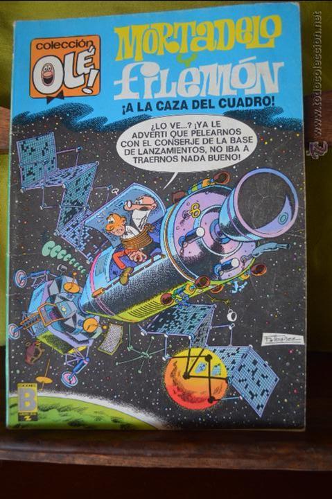 MORTADELO Y FILEMON - ¡ A LA CAZA DEL CUADRO ! - OLE 96 M 62 - IBAÑEZ - 1 EDICION MAYO 1988 (Tebeos y Comics - Ediciones B - Clásicos Españoles)