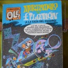 Cómics: MORTADELO Y FILEMON - ¡ A LA CAZA DEL CUADRO ! - OLE 96 M 62 - IBAÑEZ - 1 EDICION MAYO 1988. Lote 50998030