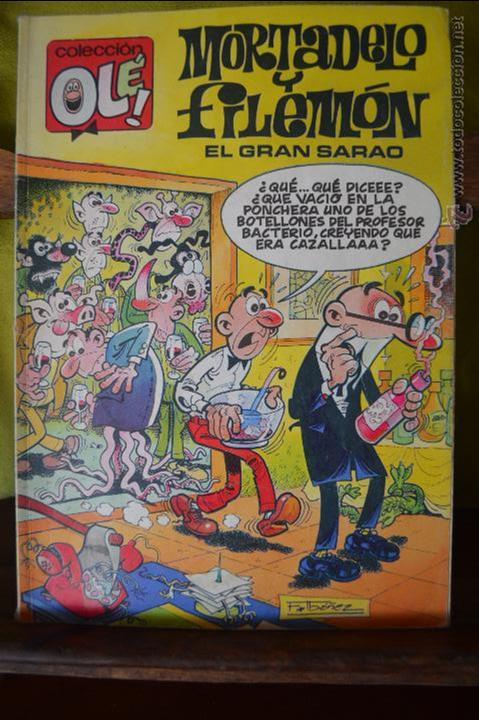 MORTADELO Y FILEMON - EL GRAN SARAO - OLE 379 M 190 - IBAÑEZ - 1 EDICION SEPT 1990 (Tebeos y Comics - Ediciones B - Clásicos Españoles)