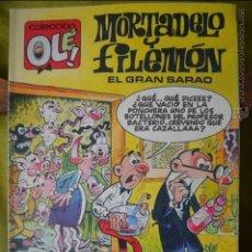 Cómics: MORTADELO Y FILEMON - EL GRAN SARAO - OLE 379 M 190 - IBAÑEZ - 1 EDICION SEPT 1990. Lote 50998195