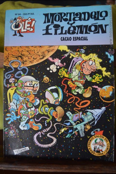 MORTADELO Y FILEMON - CACAO ESPACIAL - OLE 84 - IBAÑEZ - 1 EDICION SEPTIEMBRE 1994 (Tebeos y Comics - Ediciones B - Clásicos Españoles)