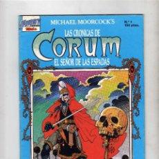 Cómics: LAS CRONICAS DE CORUM EL SEÑOR DE LAS ESPADAS, Nº1, 1987. Lote 51123538