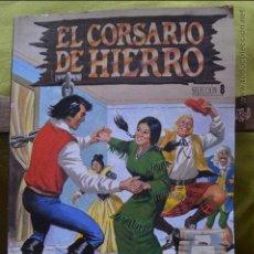 Cómics: EL CORSARIO DE HIERRO - SELECCION 8 - LOS COMANDOS DEL TERROR - EDICION HISTORICA - EDICIONES B. Lote 51181634