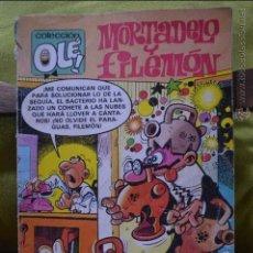 Cómics: MORTADELO Y FILEMON - OLE 216 M 130 - IBAÑEZ - 1 EDICION - MAYO 1989 - EDICIONES B. Lote 51187726