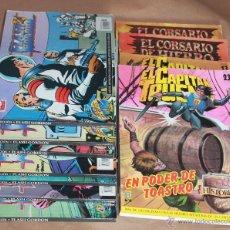 Cómics: SELECCIÓN - FLASH GORDON 6 9 13 - EL CAPITÁN TRUENO 13 - CORSARIO DE HIERRO 2 3 - Y SUELTOS. Lote 119620795