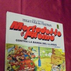 Comics - MESTRES DE L'HUMOR Nº 3 . MORTADEL·LO I FILEMÓ. CONTRA LA BANDA DEL LLARDÓ. ED. B 1987. EN CATALÁ. - 51483501