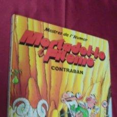 Comics - MESTRES DE L'HUMOR Nº 19 . MORTADEL·LO I FILEMÓ. CONTRABAN. ED. B. 1990. EN CATALÁ. - 51483952