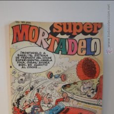Cómics: SUPER MORTADELO 65 - 1987 - IBAÑEZ - EDICIONES B - CON PAFMAN - CERA. Lote 51505956