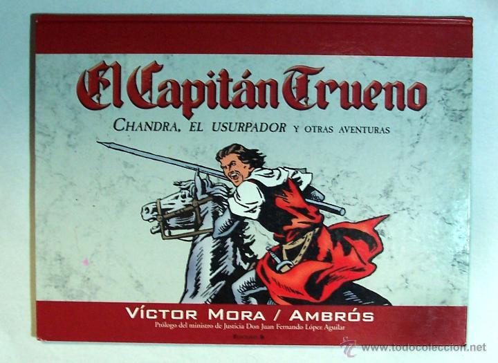 CAPITAN TRUENO, CHANDRA EL USURPADOR. (Tebeos y Comics - Ediciones B - Otros)
