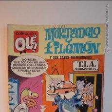 Cómics: MORTADELO Y FILEMON Y SUS CASOS TREMEBUNDOS - OLE 119 - M6 - 6 EDICION - MARZO 1987 - IBAÑEZ. Lote 51513200