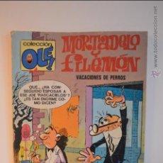 Cómics: MORTADELO Y FILEMON - VACACIONES DE PERROS - OLE 120 - M7 - 6 EDICION - MARZO 1987 - IBAÑEZ. Lote 51513231