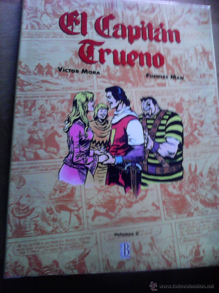 EL CAPITAN TRUENO . VICTOR MORA & FUENTES MAN. VOLUMEN II (Tebeos y Comics - Ediciones B - Clásicos Españoles)