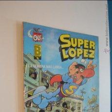 Cómics: SUPERLOPEZ - OLE 6 - LA SEMANA MAS LARGA - JAN - 3 EDICION - JUNIO 1987 - SUPER LOPEZ. Lote 56325961