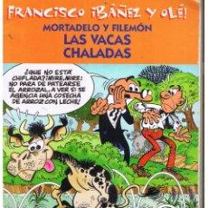 Cómics: FRANCISCO IBAÑEZ Y OLÉ!. MORTADELO Y FILEMÓN. LAS VACAS CHALADAS. EDICIONES B. 2001 (C/A40). Lote 51630247