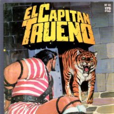 Cómics: EL CAPITAN TRUENO. EDICIONES B. Nº 44. ENIGMA EN LA ISLA. Lote 51956279