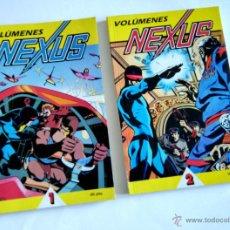 Cómics: NEXUS, LA OBRA MAGNA DE MIKE BARON Y STEVE RUDE, VOLUMENES 1 Y 2, FIRST COMICS 1987. Lote 34904714
