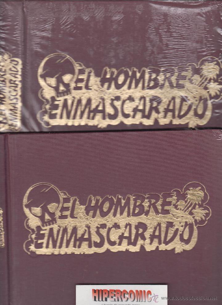 TAPAS PARA ENCUADERNAR EL HOMBRE ENMASCARADO , 13 A 24 , 25 A 32 NUEVAS (Tebeos y Comics - Ediciones B - Otros)