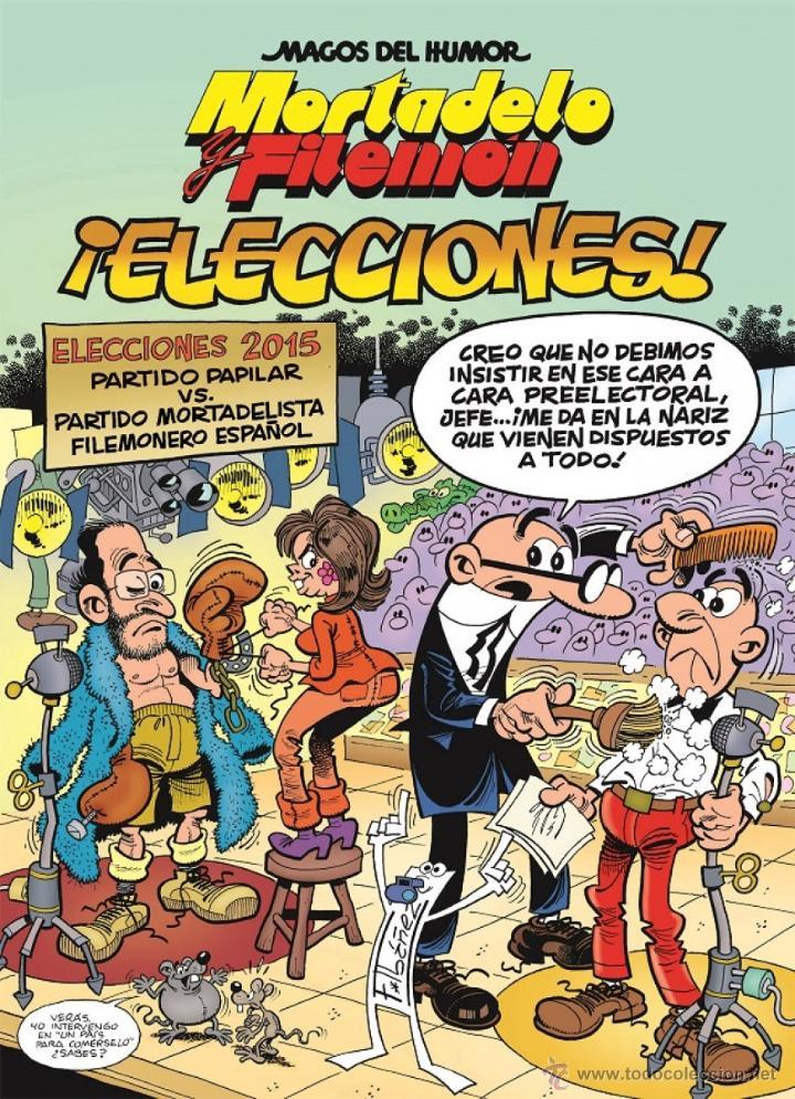 CÓMICS. MAGOS DEL HUMOR Nº 179. MORTADELO Y FILEMÓN. ¡ELECCIONES! - FRANCISCO IBÁÑEZ (CARTONÉ) (Tebeos y Comics - Ediciones B - Humor)