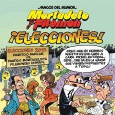Cómics: CÓMICS. MAGOS DEL HUMOR Nº 179. MORTADELO Y FILEMÓN. ¡ELECCIONES! - FRANCISCO IBÁÑEZ (CARTONÉ). Lote 230454745