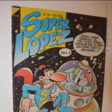 Cómics: SUPERLOPEZ 34 - JAN - 1987 - EDICIONES B - SUPER LOPEZ. Lote 53047241