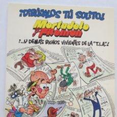Fumetti: MORTADELO Y FILEMON DIBUJALOS TU SOLITO. Lote 53109138