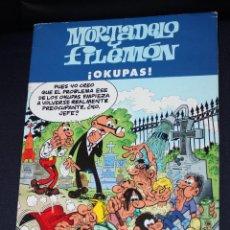 Cómics: MORTADELO Y FILEMON: ¡ OKUPAS!. Lote 53454338