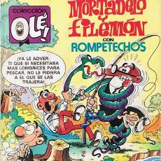 Cómics: CÓMIC MORTADELO Y FILEMÓN CON ROMPETECHOS Nº 285. Lote 53544391