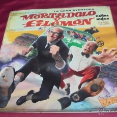 Cómics: LA GRAN AVENTURA DE MORTADELO Y FILEMON . EN CARNE Y HUESO. EDICIONES B.. Lote 53590985