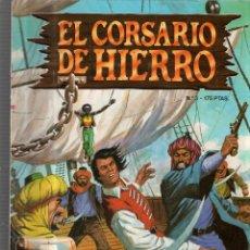 Cómics: EL CORSARIO DE HIERRO. Nº 3. LOS MERCADERES DE EBANO. Lote 81127348