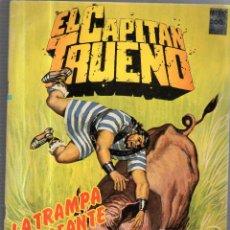 Cómics: EL CAPITAN TRUENO. Nº 60. LA TRAMPA LLAMEANTE. Lote 53629039