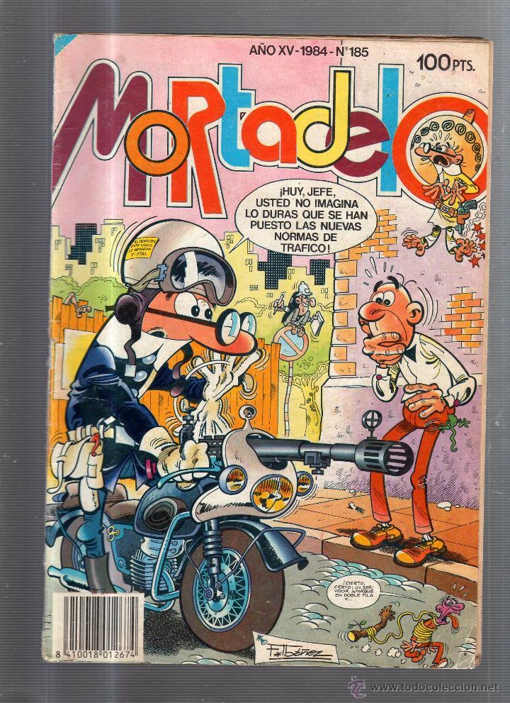 MORTADELO. AÑO XV. 1984. Nº 185. EDICIONES B. (Tebeos y Comics - Ediciones B - Humor)