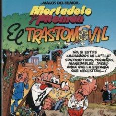 Cómics: MORTADELO Y FILEMÓN: EL TRASTOMÓVIL. MAGOS DEL HUMOR 69 - EDICIONES B - 1A EDICIÓN 1996. Lote 53734331