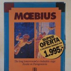 Cómics: MOEBIUS. CAJA CON 3 VOLÚMENES. Lote 54017840